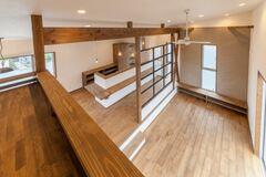 【完成見学会】「2階リビングデッキ スキップフロアの家」@湖西市新所原東