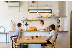 日常も趣味も楽しむ、異素材が映えるカフェのような家