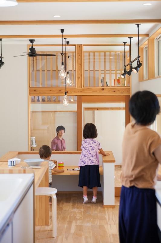 """Select工房【子育て、間取り、平屋】平屋スキップ""""によって、親子が同じ目線の高さでつながることも"""