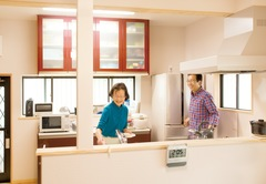 棟梁のまっすぐな人柄と技が 心地良い空間づくりの秘訣