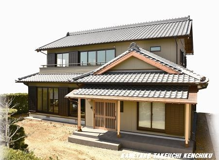 伝統の「和」を取り入れた家づくりをしています。 一棟入魂の家造り ㈱カネタケ竹内建築