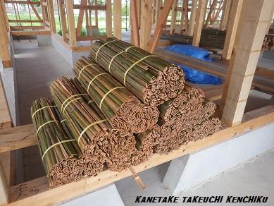 夏は涼しく冬は暖かい! 湿度も自然に調節する「土壁」を使った家づくり 天然素材100%の断熱材 竹小舞土壁 ㈱カネタケ竹内建築のこだわり