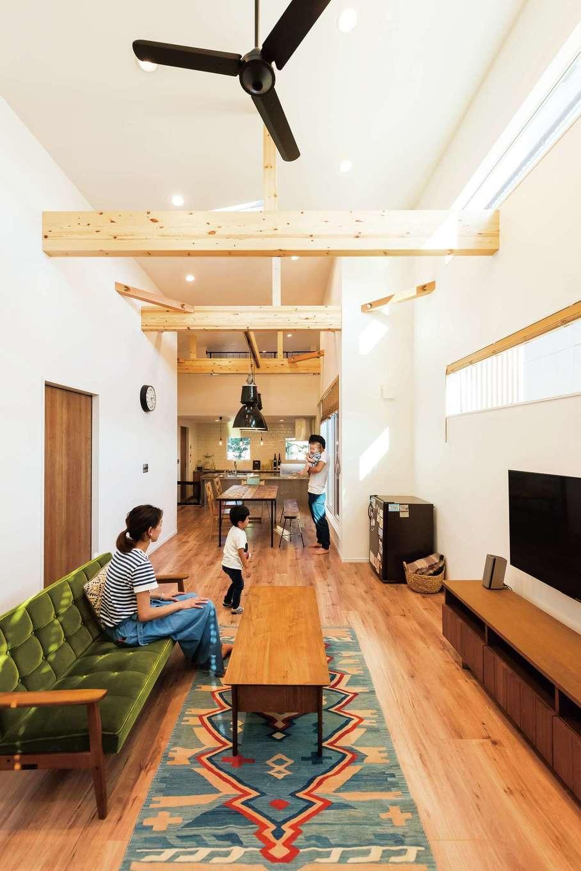 """インテリアで""""らしさ""""を。暮らしを楽しむシンプルな家"""