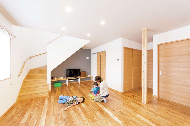 1,300万円から建てられる自然素材の高性能省エネ住宅