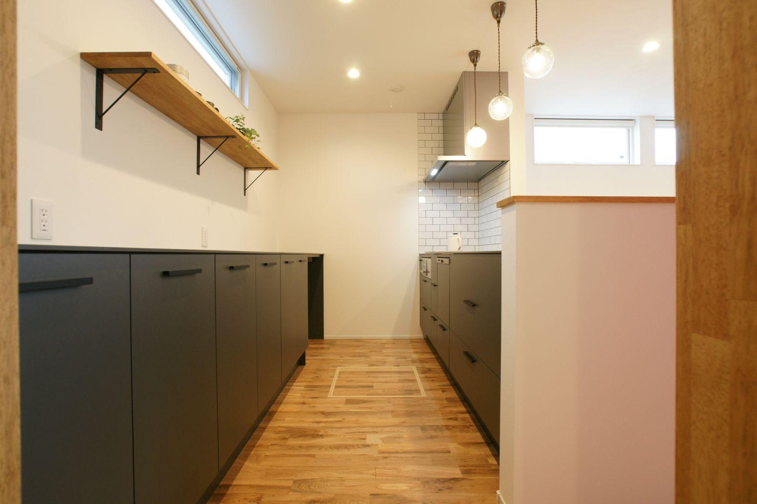 RIKYU (リキュー)【デザイン住宅、間取り、インテリア】使い勝手の良いキッチン