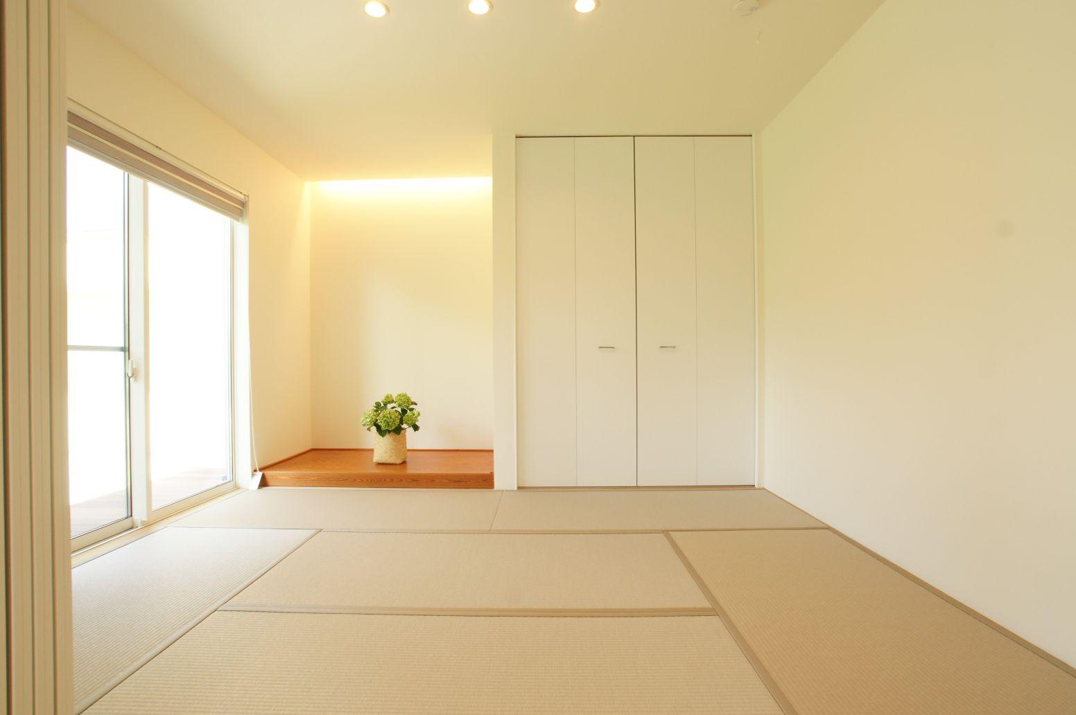 RIKYU (リキュー)【デザイン住宅、建築家、インテリア】日の光が気持ちいい和室