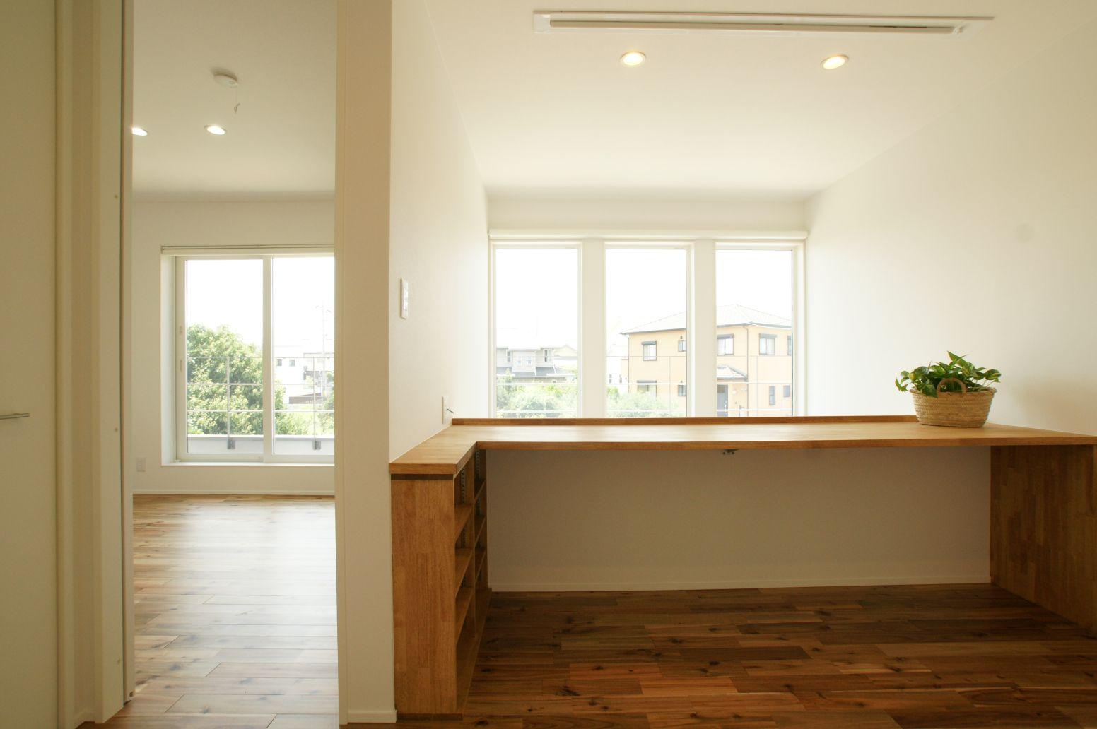 RIKYU (リキュー)【デザイン住宅、建築家、インテリア】フリースペースの有効活用の提案も同社だからこそ