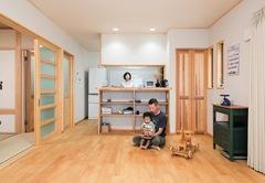 純日本家屋のような美しさと 心地よさがある無垢の木の家