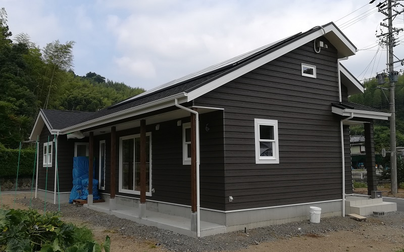 お洒落な平屋建て住宅完成見学会