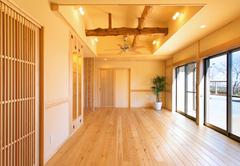 家相を考慮した大規模改修で生まれ変わったシニア夫妻の平屋建て住宅