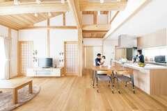 毎日が快適!女性建築士と共に建てた、平屋の木の家