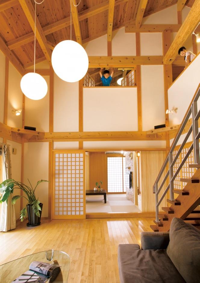 贅沢なまでに無垢を使用した 自然素材の家、究極のカタチ