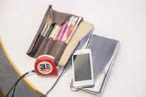 手帳、筆記具など
