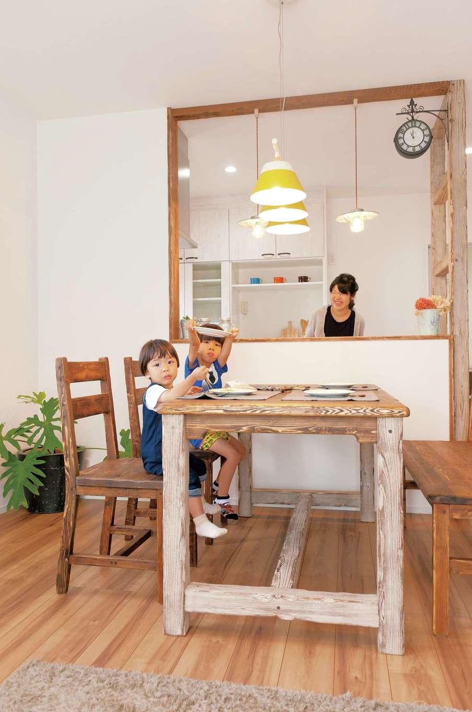 漆喰壁が外気温を遮熱する温もりのプロヴァンスハウス