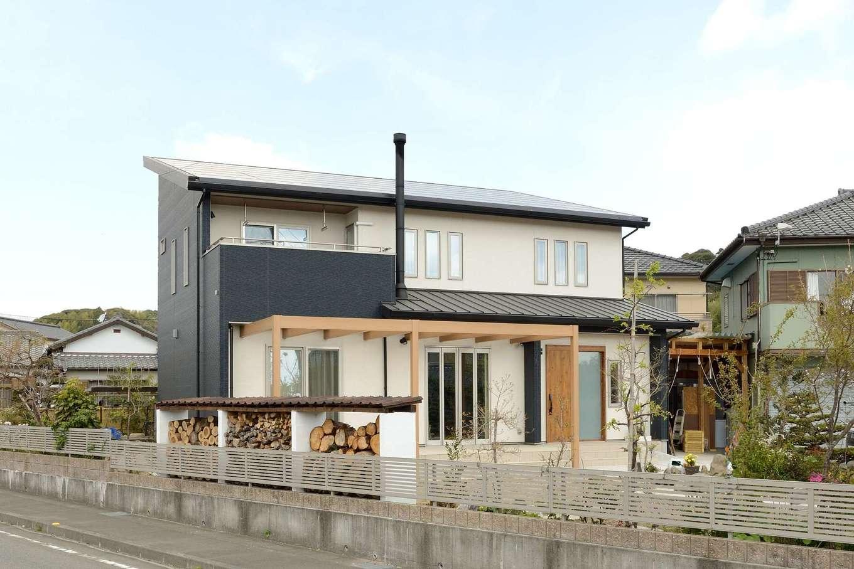 Yamaguchi Design 【デザイン住宅、趣味、省エネ】13.4kWの太陽光発電を搭載し、光熱費は毎月黒字