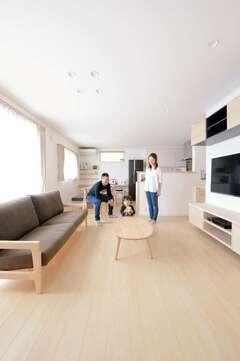 共働き子育て夫婦にやさしいSW工法の高性能住宅