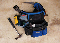 大工道具の腰袋