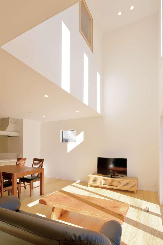 コバケンホーム(小林建設)【子育て、自然素材、間取り】建物は総2階で延床36.5坪以内という制限はあるものの、間取りのプランニングやデザインは自由自在