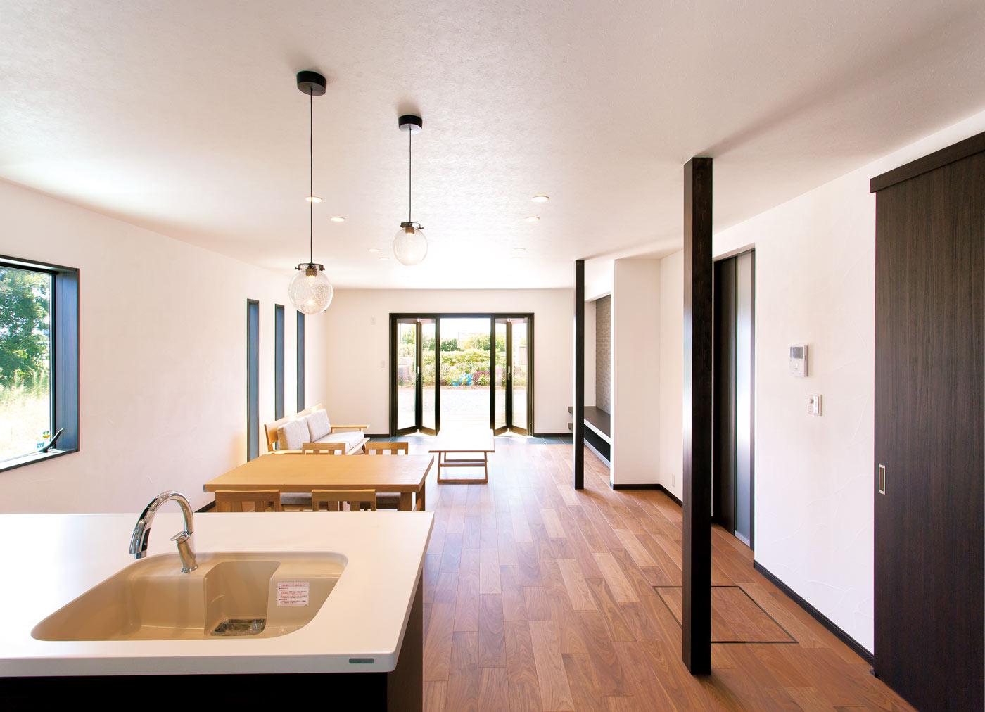 子育て世代の暮らしを実感できる自由設計&自然素材の家