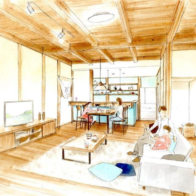 【完全予約制/新築完成見学会】北欧家具の似合う家