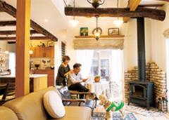 古材と設計力で実現させた 欧州の古民家空間