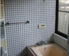 リフォーム以前の浴室