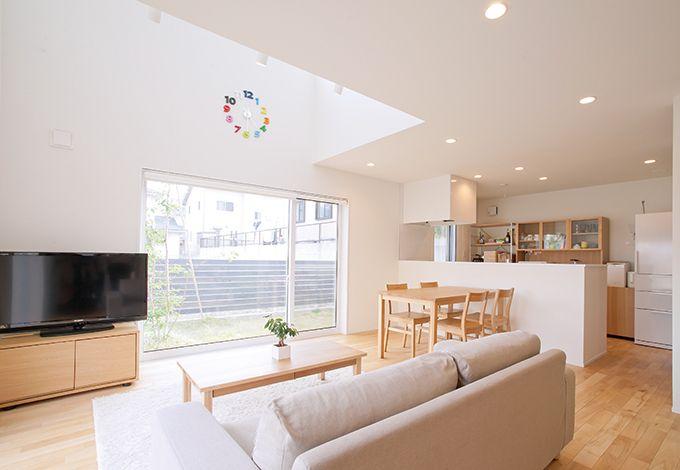 無印良品の家(インフィルプラス)【デザイン住宅、省エネ、間取り】柱や壁の制約を受けず広々とした空間を生み出すSE構法。高い住宅性能にも注目