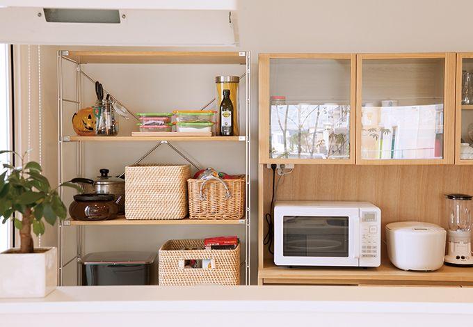 無印良品の家(インフィルプラス)【デザイン住宅、省エネ、間取り】家具、家電、雑貨はほぼ無印良品のもので統一。家の雰囲気作りに一役買っている