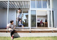 子どもの感性を育み暮らしを楽しむ木の家