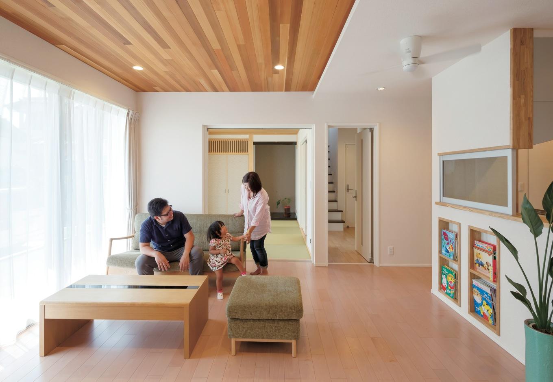 自然の力と高性能を兼ね備えた光と風に満ちた健やかな家