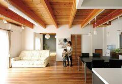 木だ葉りの家 大瀧建築