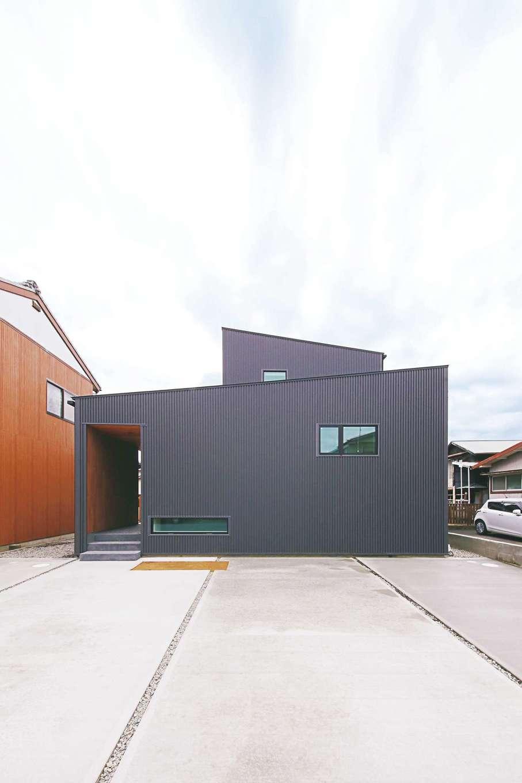敷地の個性をプラスに活かした京の町屋スタイルの家