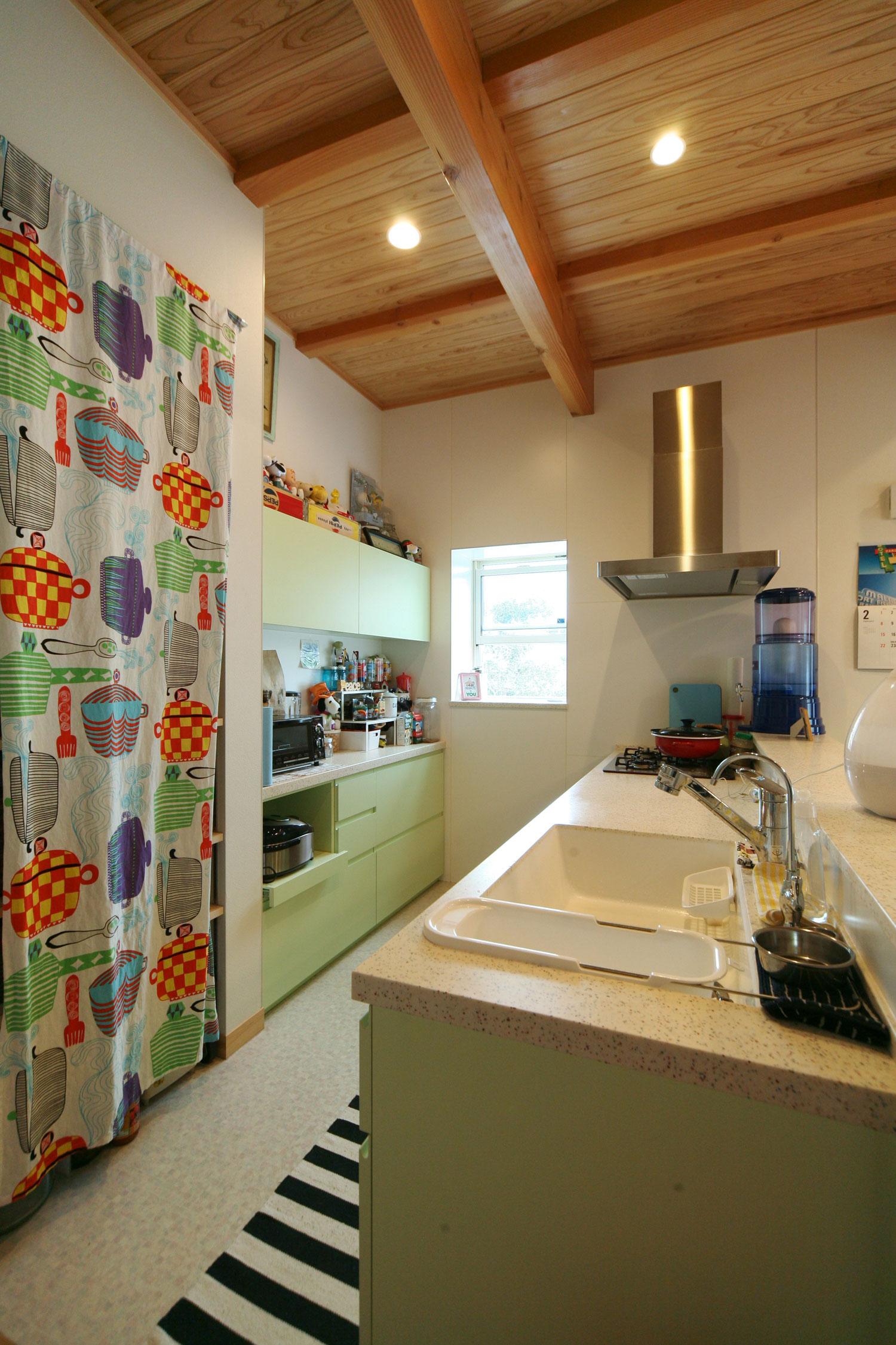 岩田建築【デザイン住宅、趣味、インテリア】完全オリジナルのオーダーキッチン