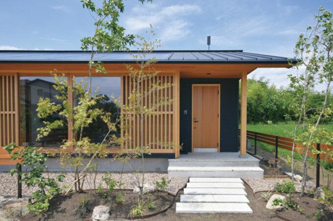 コンテストダブル受賞達成! 石牧建築のZEHの平屋「いそらの家」