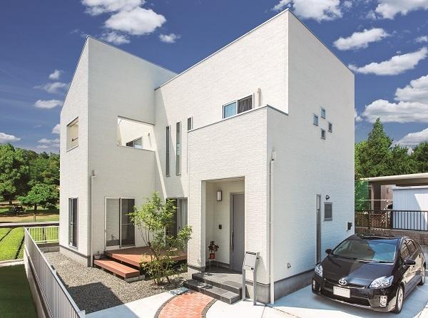 アフターホーム【1000万円台、デザイン住宅、間取り】採光や通風も考慮したシンプルな外観