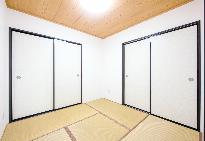 アフターホーム【1000万円台、デザイン住宅、子育て】アパート時代にはいらないと思っていた和室。育児中の現在は、家族の寝室や子どもの遊び場に大活躍