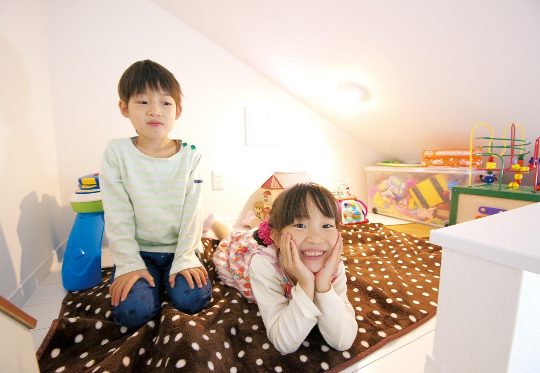 アフターホーム【1000万円台、子育て、狭小住宅】子ども部屋のロフトは、楽しい遊び場