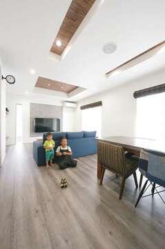 子育て夫婦が無理なく快適に暮らせる北欧調の家