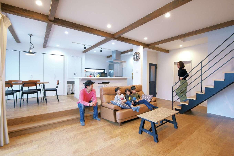 子育て世代に嬉しい、豊富な収納でいつでもスッキリ空間を!