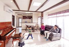 光と風がやさしく微笑む 住み心地満足度120%の家