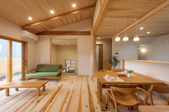 木の空間が心地いい!平屋の家見学会