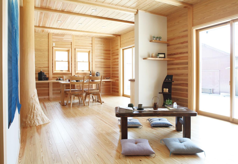 地元の材と技と伝統を、未来に受け継ぐ「板倉の家」
