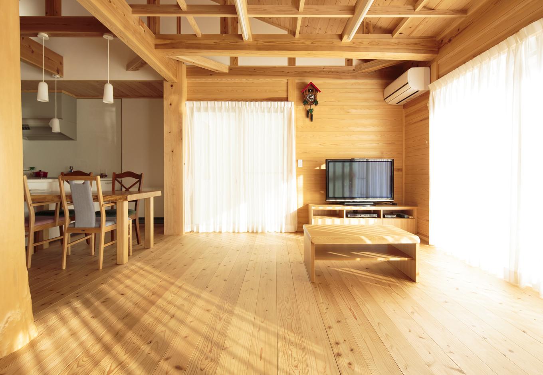 板倉造りへの10年来の憧れを 平屋の二世帯住宅で実現