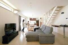 デザインと住み心地のバランスがとれた収納上手な家