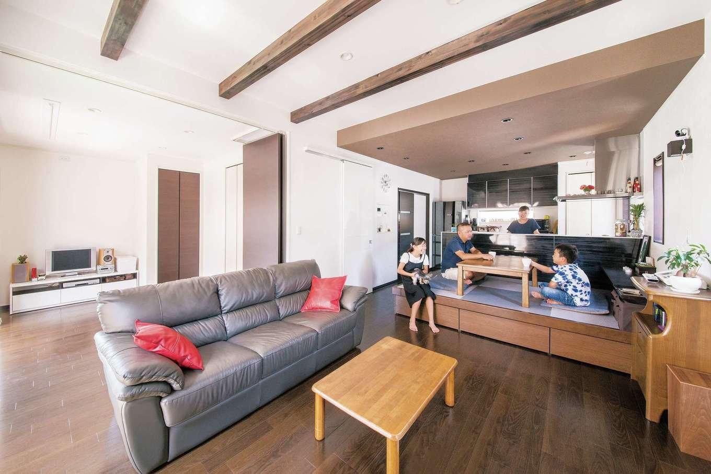 建設のプロも満足するデザインと機能性を両立した家