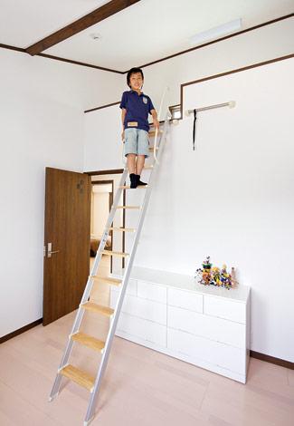 水田建設【1000万円台、二世帯住宅、間取り】長男の部屋はロフト付き。友達も必ず登りたがる