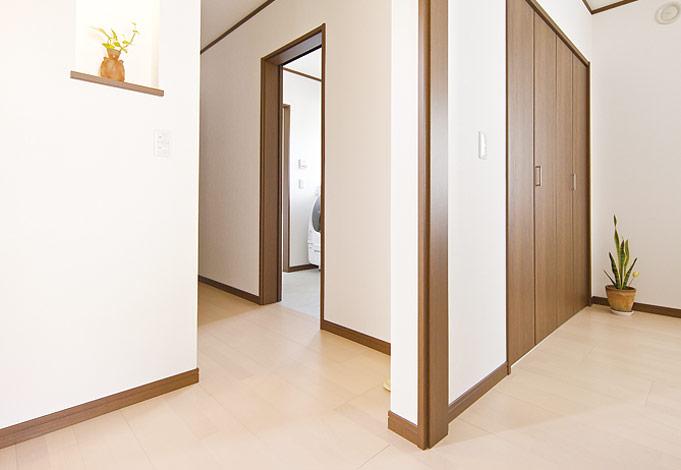 水田建設【1000万円台、二世帯住宅、間取り】将来の生活を考えて、段差のないバリアフリー設計