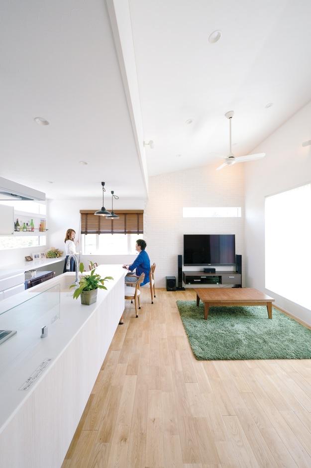 夫婦の「好き」が詰まった北欧風のデザインハウス