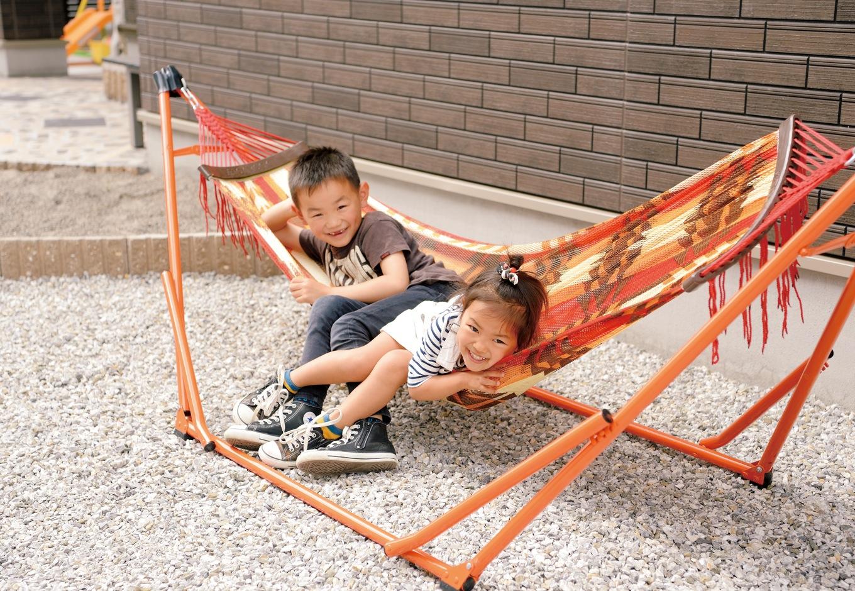 Um House(マル祐戸田建築)【子育て、収納力、平屋】庭で遊ぶ機会が増えた子どもたちは、ますます元気に逞しくなった