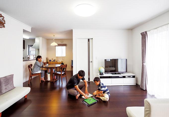 自然のパノラマビューを満喫! 心豊かに暮らせるコミコミ住宅